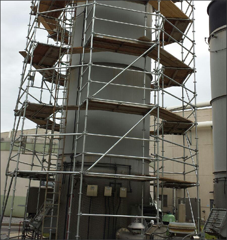 Industrial Scaffolding Rental Systems Alabama