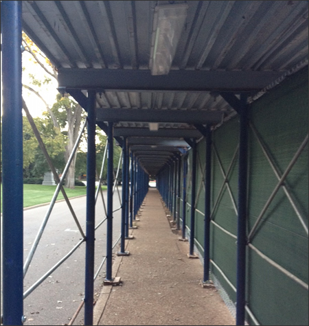 Sidewalk and Pedestrian Canopy Systems Alabama & Auburn Sidewalk Canopy and Pedestrian Systems | Auburn Sidewalk ...