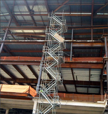 Stair Tower Scaffolding Rental Systems Alabama