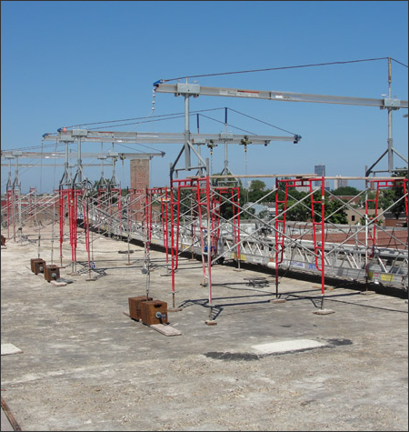 Suspended Scaffolding Rental Systems Alabama